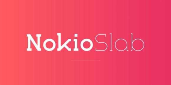 Nokio Slab (80% discount, from 4€)   https://fontsdiscounts.com/nokio-slab-80-discount-from-400e?utm_content=buffer74653&utm_medium=social&utm_source=pinterest.com&utm_campaign=buffer