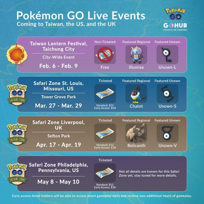 Pokemon Go Live Events 2020 In 2020 Pokemon Pokemon Go Live Events
