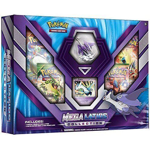 Pokemon Mega Latios Collection 4 Pokémon TCG Booster Packs & Detailed Figure ++ #Pokemon