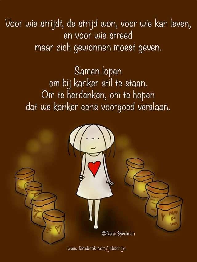 De SamenLoop voor hoop, wordt op velen plaatsen in Nederland gehouden.      Www.Jabbertje.nl