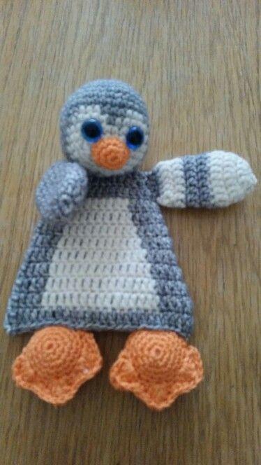 Lappenpop baby pinguïn.