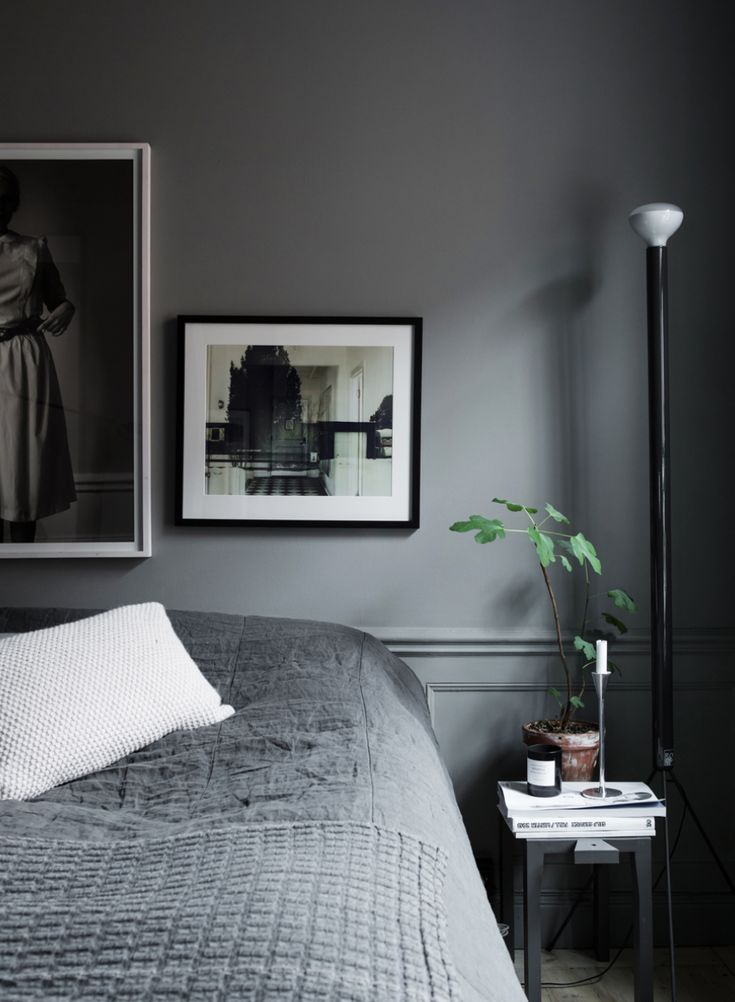 25 best ideas about dark grey bedrooms on pinterest 13323 | 42ed519e23c01caf42720040964e7e01 dark grey bedrooms small bedside tables