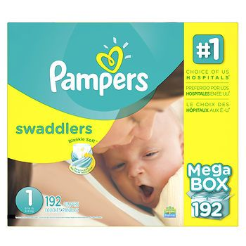 Pampers Swaddlers Size 1 Diapers, 192 ct. - BJ's Wholesale Club 40.00
