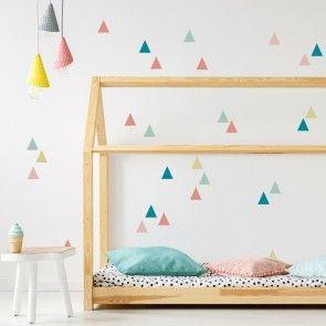 Schöne Kinderzimmer Wandgestaltung! Ganz einfach …