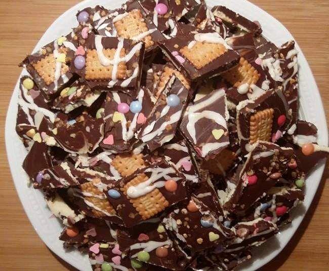 Thermifees Bruchschokolade-Geschenkidee