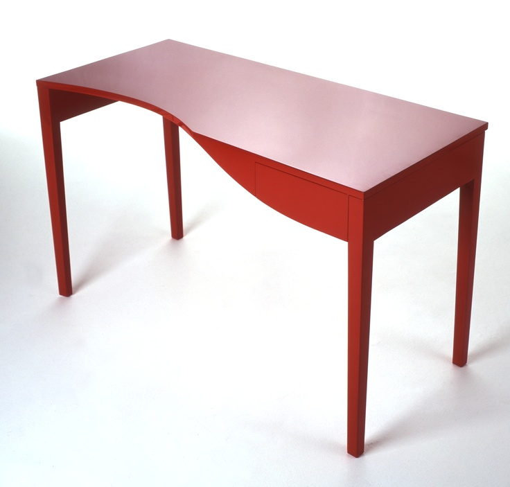 """""""Red Writing Desk"""" by Neil and Annabel McCarthy www.nest-design.com"""