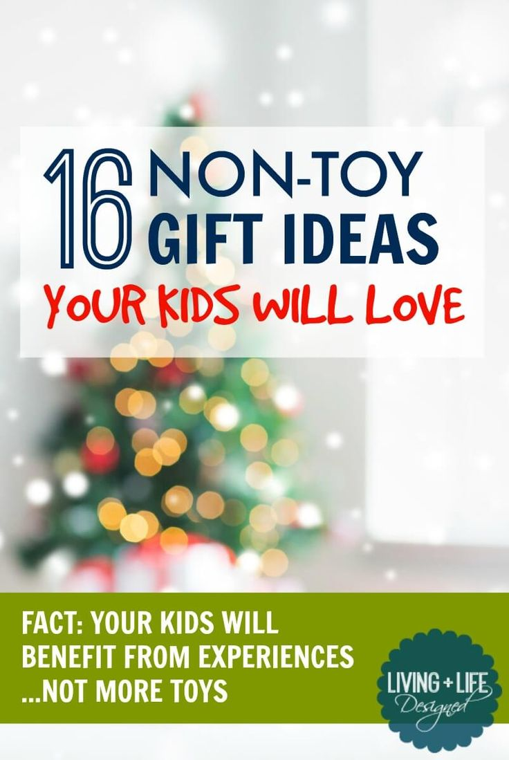AWESOME Gift Ideas that aren't TOYS!!! Honestly, I'm so tired of buying toys and I know my friends hate cleaning them up, so I would love to spend my money on more meaningful experiences they'll all love.