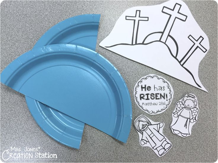 This past week we reviewed Jesus' death, burial and resurrection in our Bible class, here's what we did… {ARRIVAL} We started class just like every week, the first 8-10 minutes of class the childrencome in and play with toys that are laid out on the table. It is a great time to reinforce how God …