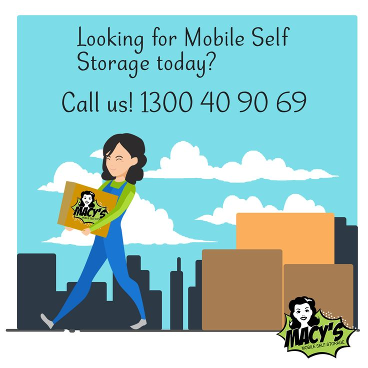 For simple, convenient, super cheap and secure mobile self storage in Sydney, give Macy's Mobile Self Storage a call today! Contact 1300 40 90 69