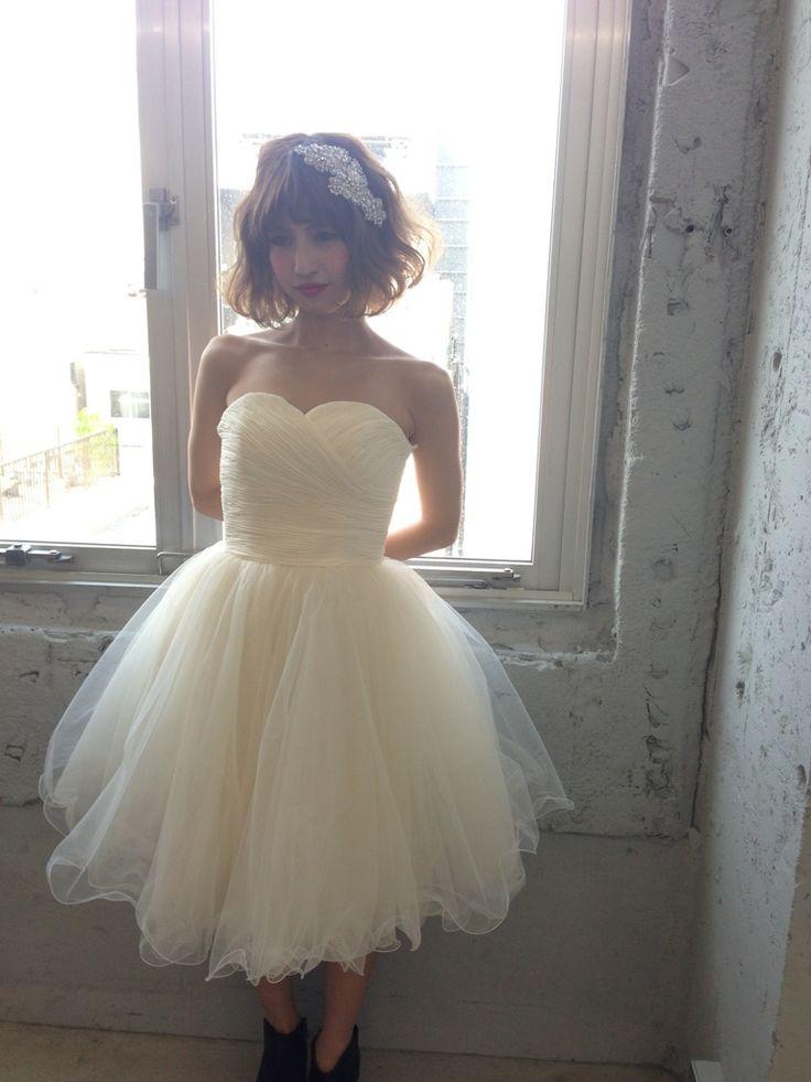 白ミニドレス(Little White Dress):50-7023