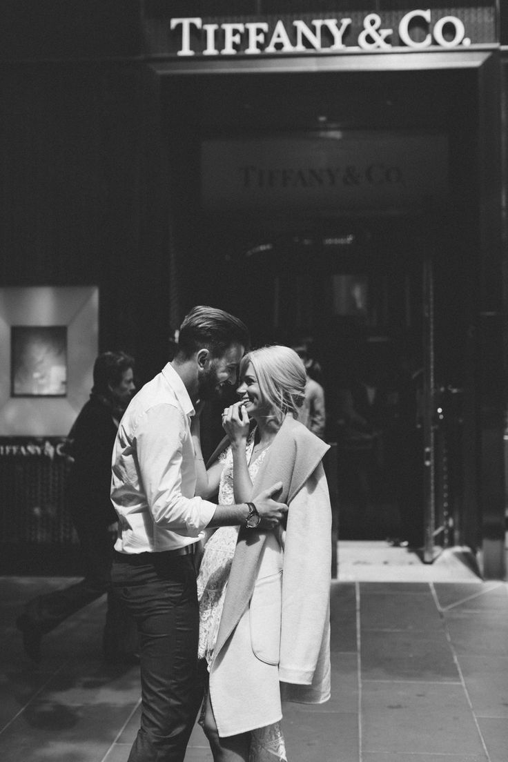 love | kisses in front of tiffany's | repin via: eberjey intimates