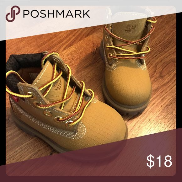Toddler timberland boots Worn twice size 5 toddler timberlands Timberland Shoes Boots