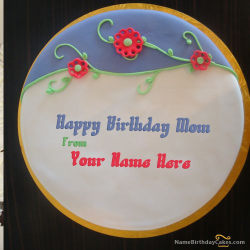 how to write a name on a fondant cake