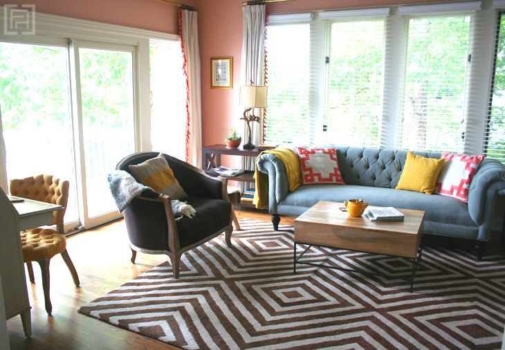 Client project reveal keeping room southern interiors for Interior design for 10 by 10 room