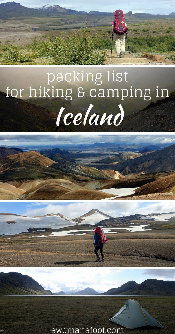 Some advice on what to bring when volunteering at our project in Iceland in the summer time #travel #hiking #volunteer
