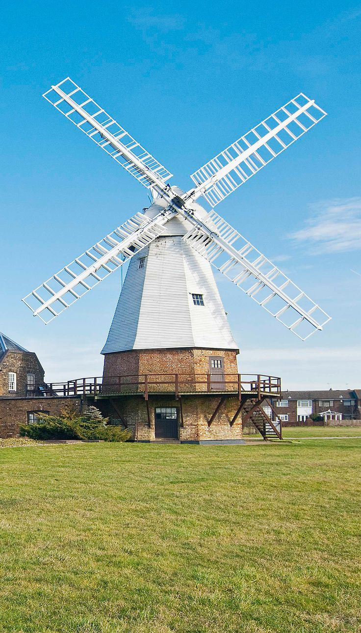 Baker Street Mills in Orsett, Grays: a fully restored windmill and converted Victorian steam mill | unusual homes