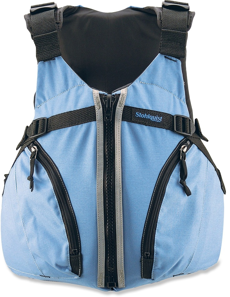 The most comfortable and perfect-fitting PFD! No ride up, cut out chest panels for the women, and it even comes in plus sizes!