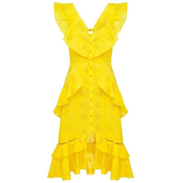 alice McCALL | alice McCALL Clair De Lune Dress - alice McCALL ❤ liked on Polyvore featuring dresses, yellow dress, alice mccall and alice mccall dress