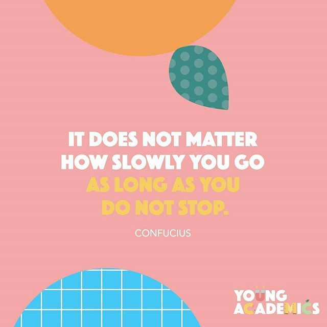 Today's words of wisdom💫Sometimes slow and steady really does win…