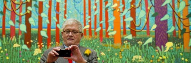 L'arte di Hockney: dipingo, ergo iPad - IlGiornale.it
