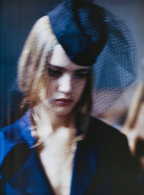 Natalia Vodianova by David Armstrongfor V Magazine December 2002