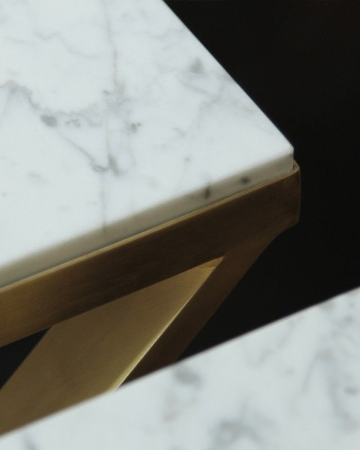 Brass & Marble Coffeetable Order magdalena@tekieli.pl Magdalena Tekieli Design