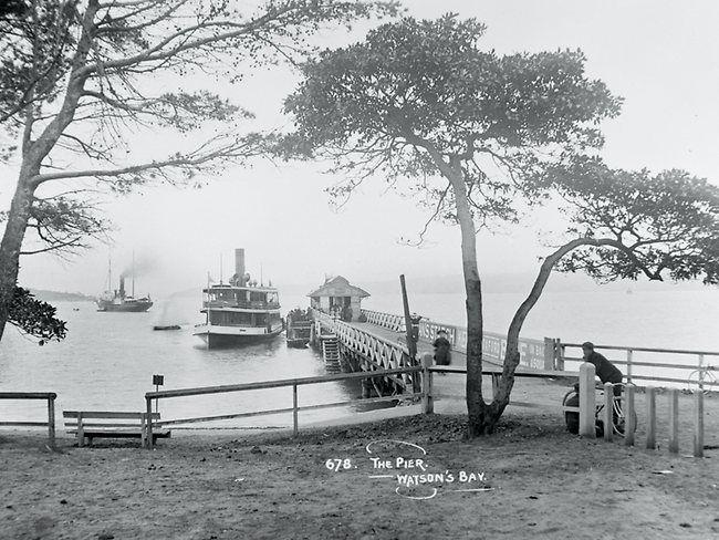 Watsons Bay Pier.