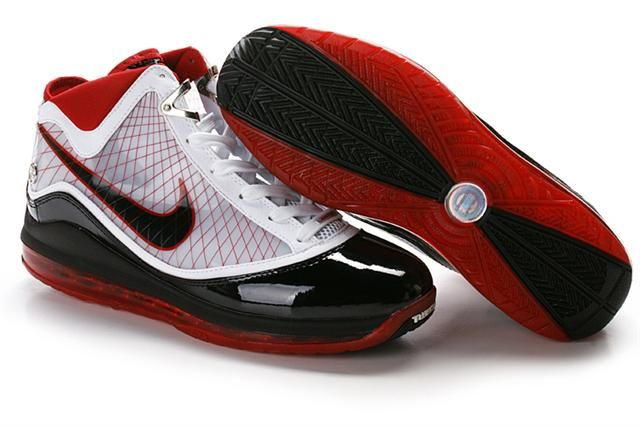 http://www.airfoamposite.com/nike-lebron-7-white-black-red-p-299.html NIKE LEBRON 7 WHITE BLACK RED Only $87.66 , Free Shipping!