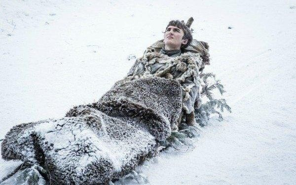 Bran Stark, clearly missing Hodor even more than the rest of us