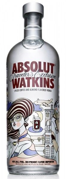 new limited Traveler's Edition Absolut vodka