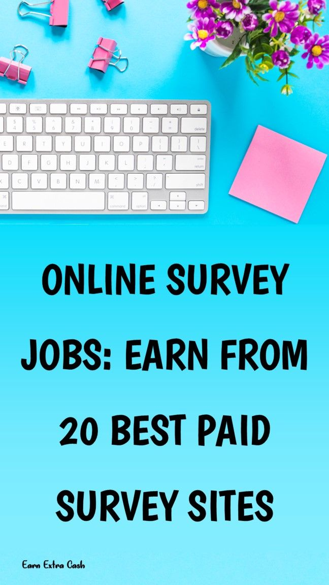 Online Survey Jobs: Earn From 20 Best Paid Survey …