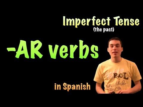 02 Spanish Lesson - Imperfect - AR verbs - YouTube