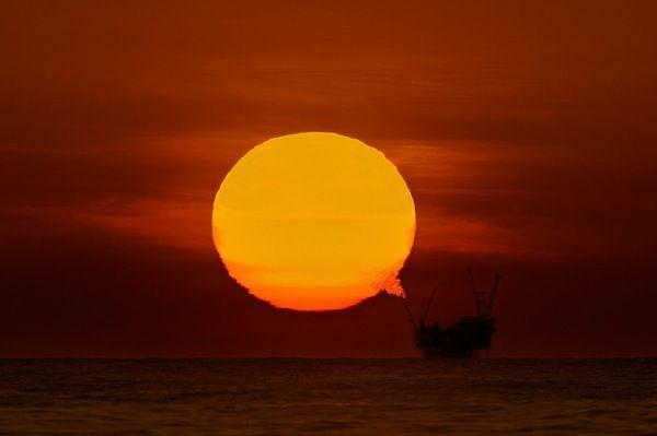 Un tramonto diverso...