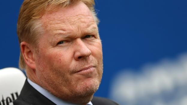 "Everton: Ronald Koeman 'disappointed' after being sacked as manager  ||  Ronald Koeman says he is ""disappointed"" at being sacked by Everton after 16 months at the Premier League side. http://www.bbc.co.uk/sport/football/41735239"