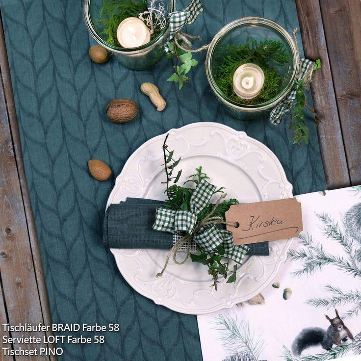 die besten 25 sander tischw sche ideen auf pinterest tischw sche rote weihnachtsb ume und. Black Bedroom Furniture Sets. Home Design Ideas