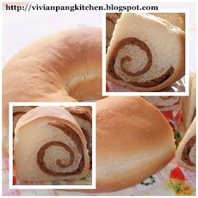 This is another sponge dough method of bread making. This recipe requires whipping cream. Instead of bake in a big sandwich mould I b...