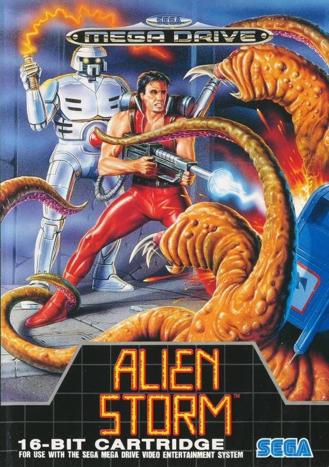 Originally had this as part of Mega Games I – same as Golden Axe only in space!