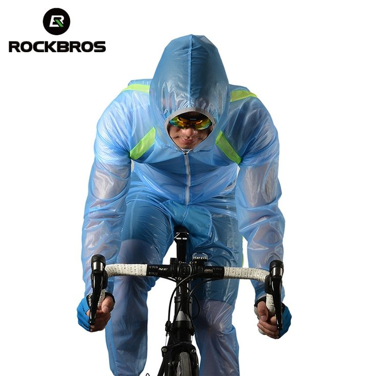 21.60$  Watch here - http://alilyf.shopchina.info/go.php?t=32379846512 - ROCKBROS Outdoor Riding Mountain Bicycle Bike Cycling Raincoat Breathable Compressed Windshield Waterproof Raincoat Suit 3Colors  #aliexpress