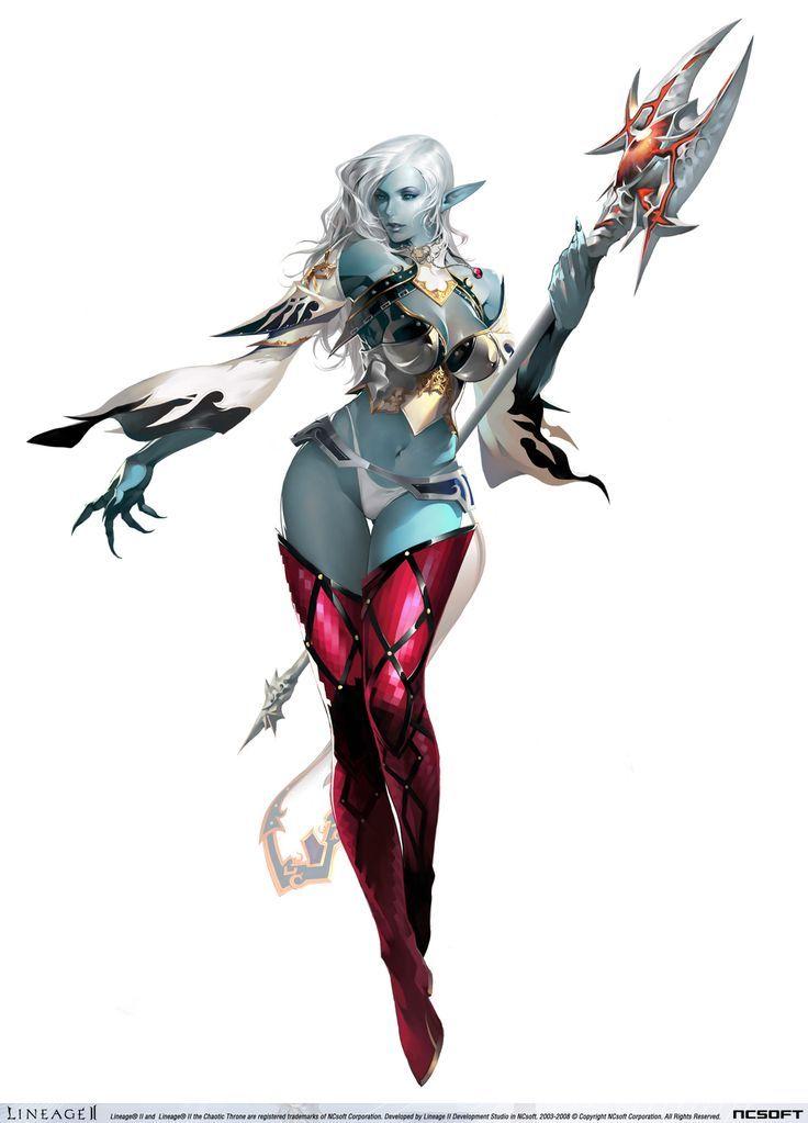 Lineage II - Dark Elf (Game Character)