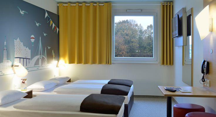 Familienzimmer für 3 Personen im B&B Hotel Hamburg-Nord