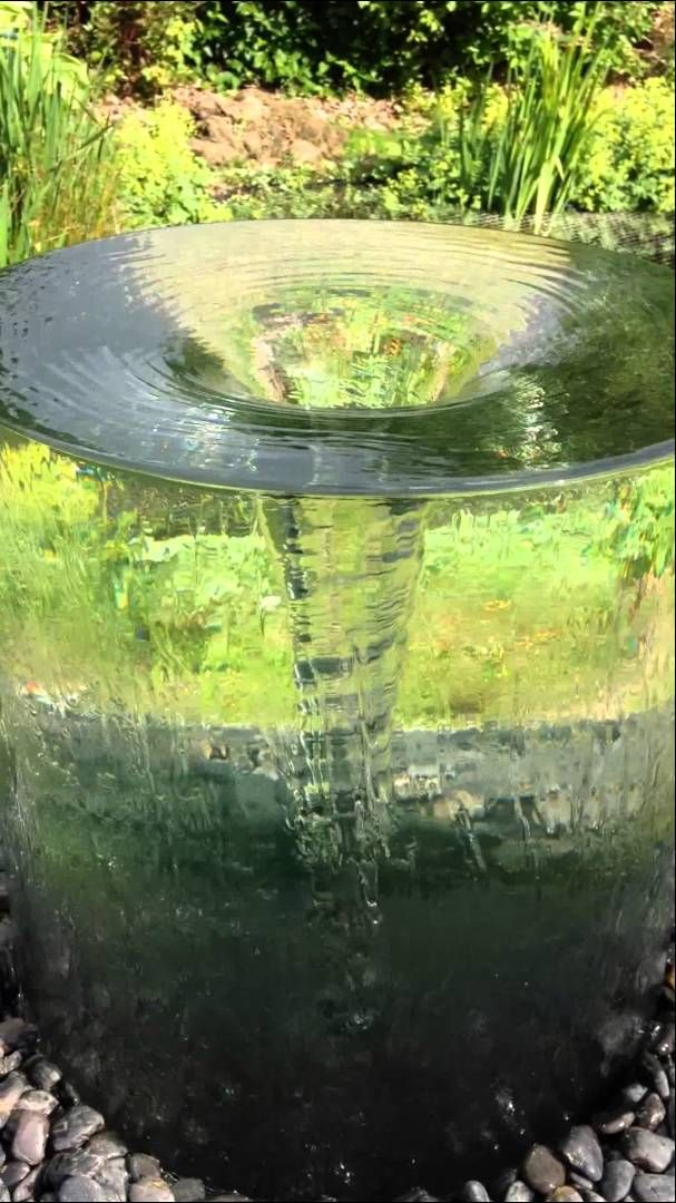 Volute Water Feature by Tills Innovations