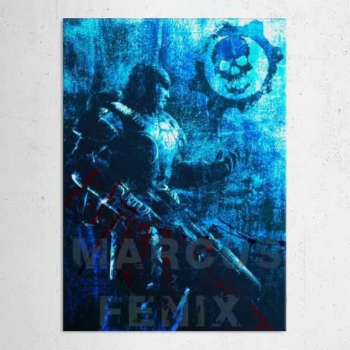 15% OFF on any order placed this week with code: october15. Marcus  Fenix Poster #gearsweapon #marcusfenix #rifle #gamer #gaming #gifts #lancer #homedecor #homegifts #sales #save #discount #kids #family #home #geek #videogame #games #art #pinterest #posters #giftsforher #giftsforhim #shopping #online #displate #39 #style #gears #war