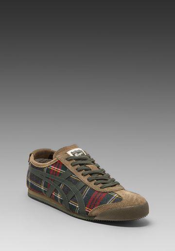 ONITSUKA TIGER Mexico 66 in Red Tartan/Dark Grey - Sneakers · Tiger ShoesNike  ...