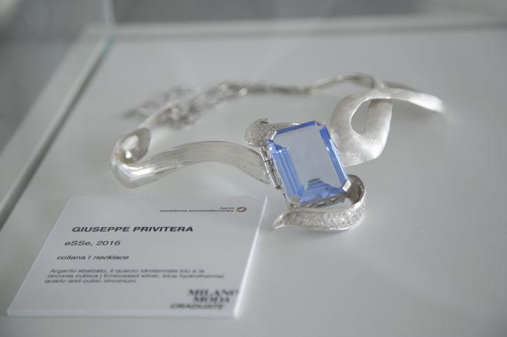 Collection: eSSe Jewelry Designer: Giuseppe Privitera Event: MilanoModaGraduate by Piattaforma Sistema Formativo Moda e Camera Nazionale della Moda Italiana