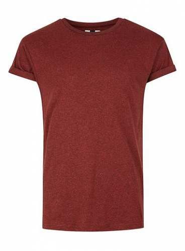 Prezzi e Sconti: #Red salt and pepper muscle fit roller t-shirt misure Xxs  ad Euro 14.00 in #Topman #Clothing mens tops