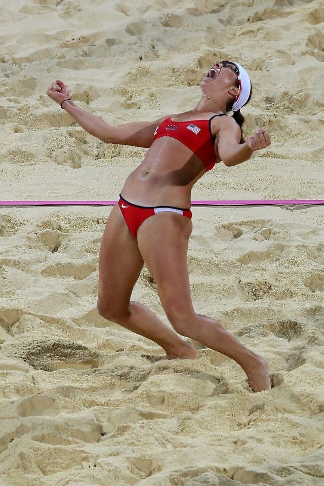 Misty May Treanor Perfection at its best :) greatest beach volleyball player to walk the earth
