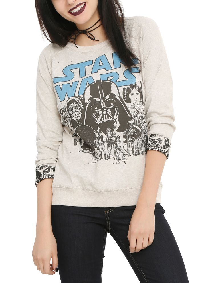 Star Wars Classic Reversible Girls Pullover Top | Hot Topic
