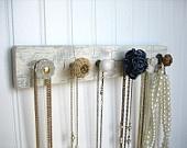 DIY jewelery hooks