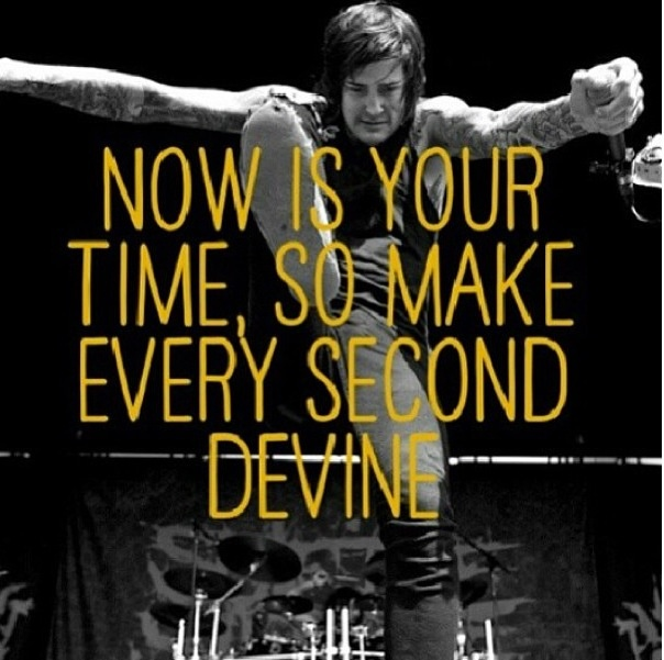 Mitch Lucker You Only Live Once Quote