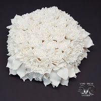 Blog Anri-Irene. Handmade. Created with care and love... : Фарфоровые цветы для стен. Porcelain wall flowers....